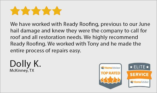 Ready roofing customer reviews mckinney, tx